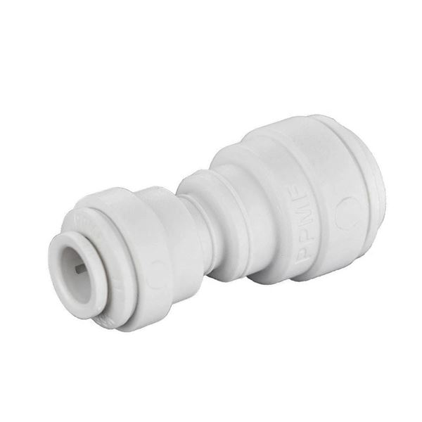 Item # PPM201512W, Metric White Polypropylene Reducing Union Connector  Fittings On Seelye Acquisitions, Inc