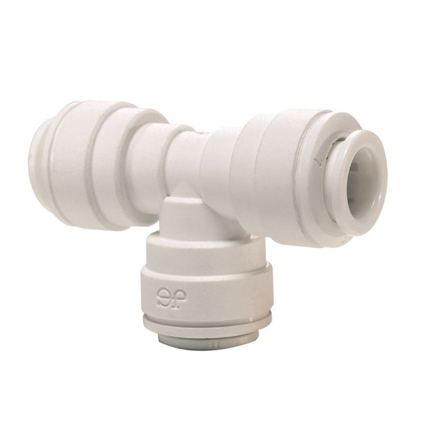 Metric White Polypropylene Union Tee Fittings On Seelye Acquisitions, Inc