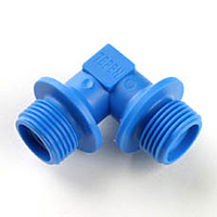 Flange Pipe Elbow Connector
