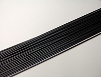 Round Black Copolymer Welding Rods