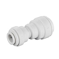 Inch White Polypropylene Reducing Union Connector Fittings