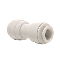 Inch White Polypropylene Union Connector Fittings