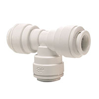 Inch White Polypropylene Union Tee Fittings