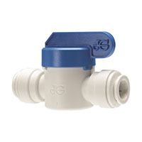 Inch Polypropylene Speedfit To Speedfit Shut-Off Valves