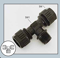 Male Branch Tee Connector-2