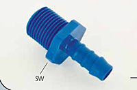 Special Panel Male Straight Hose Connector