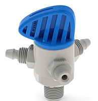 Trio Tech 3-Way Plastic Valve