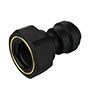 Inch Black Polypropylene Female Adapter Fittings