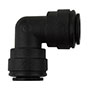 Inch Black Polypropylene Union Elbows