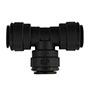 Inch Black Polypropylene Union Tee Fittings
