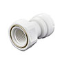 Inch White Polypropylene Female Adapter Fittings