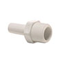 Inch White Polypropylene Stem Adapter Fittings