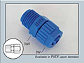 Male Connector 6 mm x 1/8 in.
