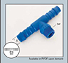 Male Branch Tee Hose Conn 4 mm x 1/8 in.